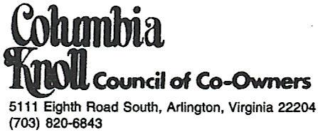 Columbia Knoll Condo