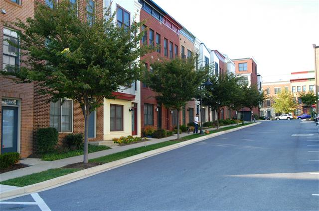 Tree lined streets of charming row homes thumbnail