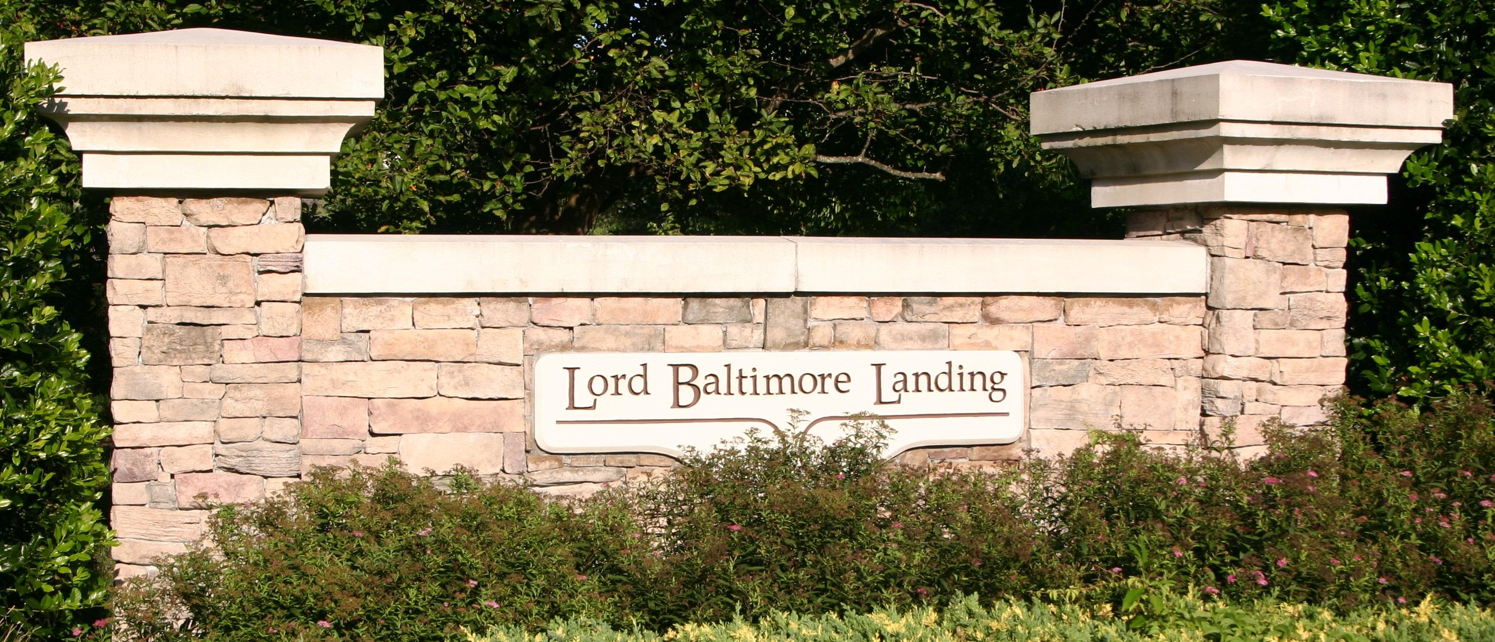 Lord Baltimore Landing HOA cover